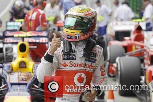 Lewis Hamilton and Team Mclaren-mercedes 6