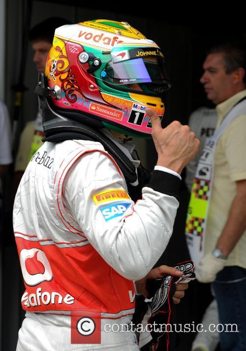 Lewis Hamilton and Team Mclaren-mercedes 10