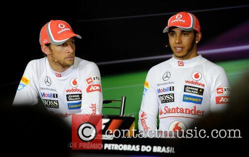 Lewis Hamilton, Team Mclaren-mercedes and Jenson Button 4