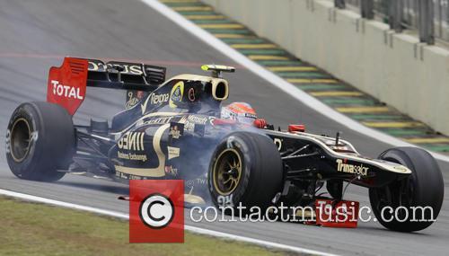 Romain GROSJEAN, France, LOTUS-Renault F1 Team  F1...