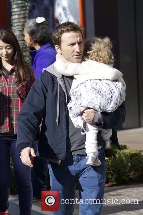 Seen with his daughter Caitlin Willow out Christmas...