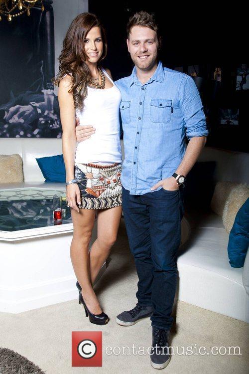 Brian McFadden & Vogue Williams celebrate their engagement...