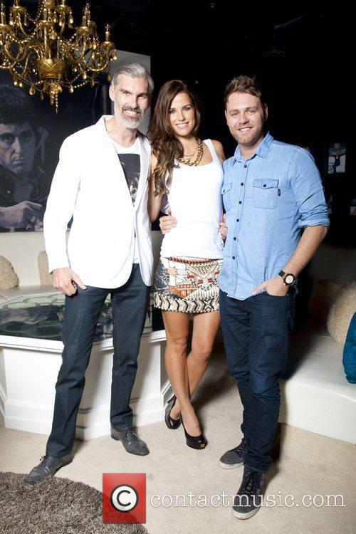 Brian McFadden & Vogue Williams celebrate their engagement...