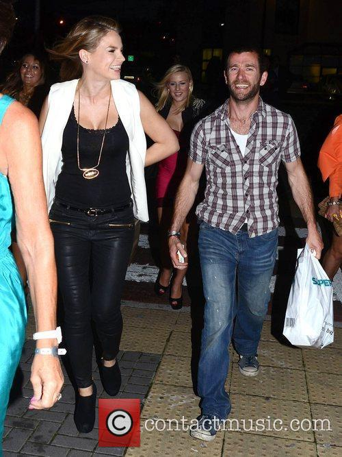 Amber Williams and Tim McDonnell Brian McFadden and...