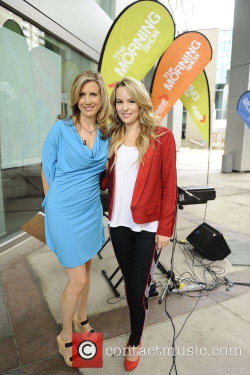 Host Lisa Fromer and Bridgit Mendler  interview...