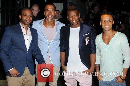 Jonathan Gill, Aston Merrygold, Jls and Brit Awards 3