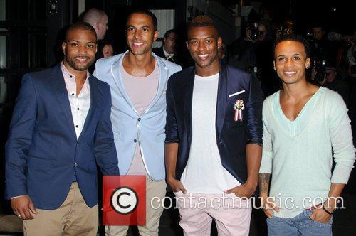 Jonathan Gill, Aston Merrygold, Jls and Brit Awards 1