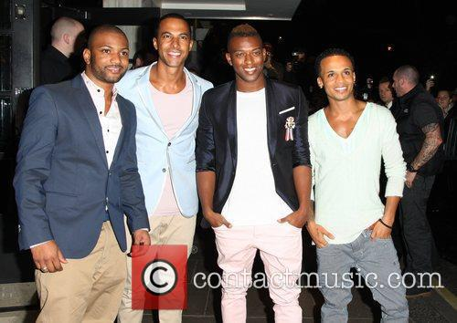 Jonathan Gill, Aston Merrygold, Jls and Brit Awards 2