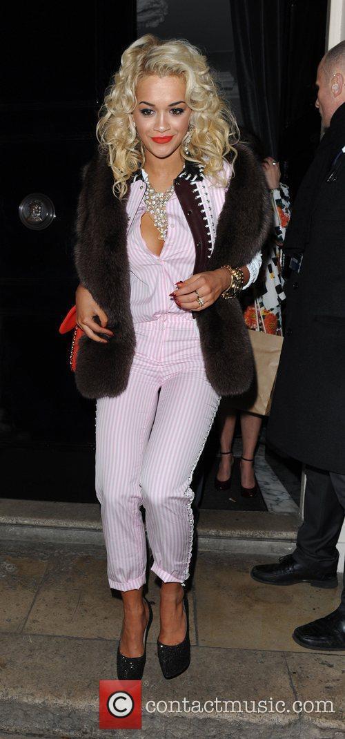 Rita Ora Brit Awards 2012 - Sony Music...
