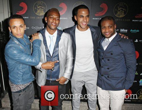 Aston Merrygold, JLS, Jonathan Gill and Brit Awards 3