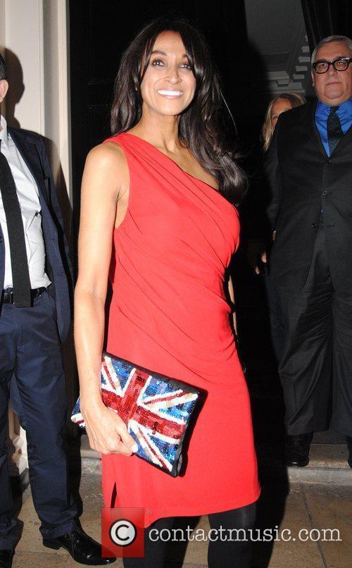 Jackie St Clair Brit Awards 2012 - Sony...
