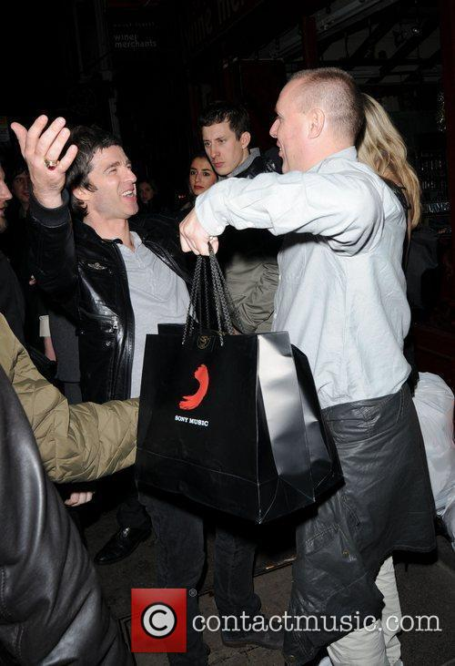 Noel Gallagher and Brit Awards 7