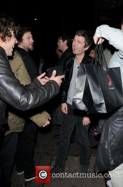Noel Gallagher and Brit Awards 33