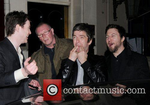 Noel Gallagher and Brit Awards 34