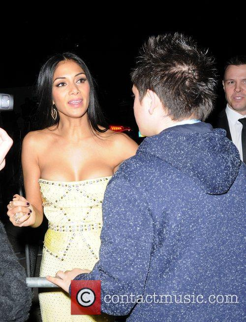 Nicole Scherzinger and Brit Awards 5