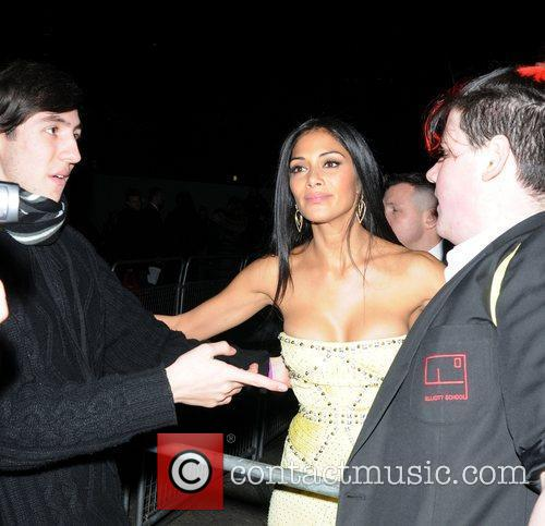 Nicole Scherzinger and Brit Awards 8