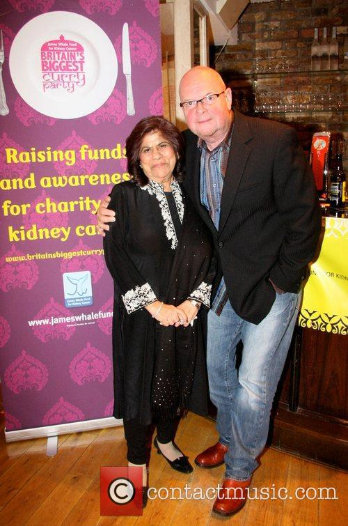 Geeta Samtani and James Whale