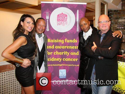 Lizzie Cundy, John Leee, Peter Straker and James...