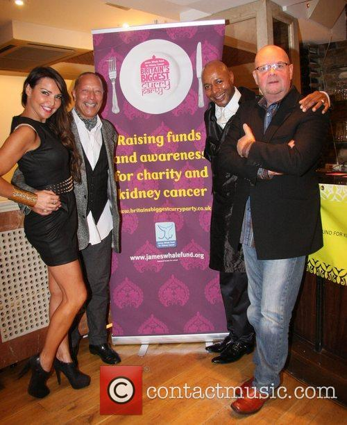 Lizzie Cundy, Peter Straker, Lee John and James...