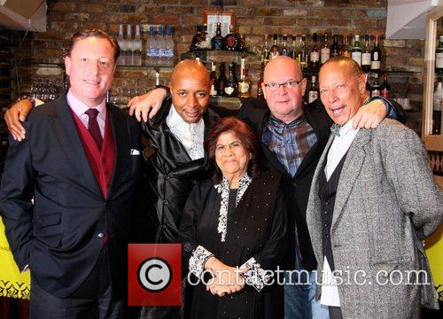 Neville Thurlbeck, Leee John, Geeta Samtani, James Whale and Peter Straker 2