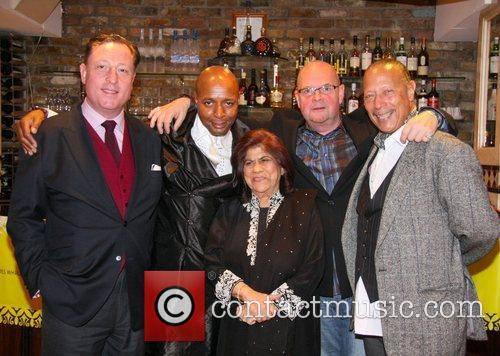 Neville Thurlbeck, Leee John, Geeta Samtani, James Whale and Peter Straker 1