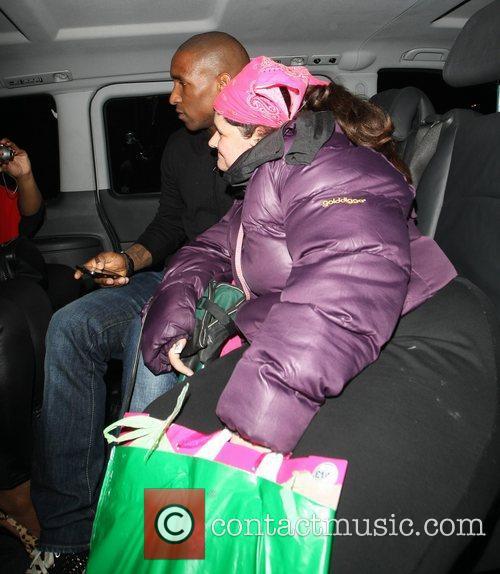 Jermain Defoe and 'Celebrity Hugger' Tania McIntosh Celebrities...