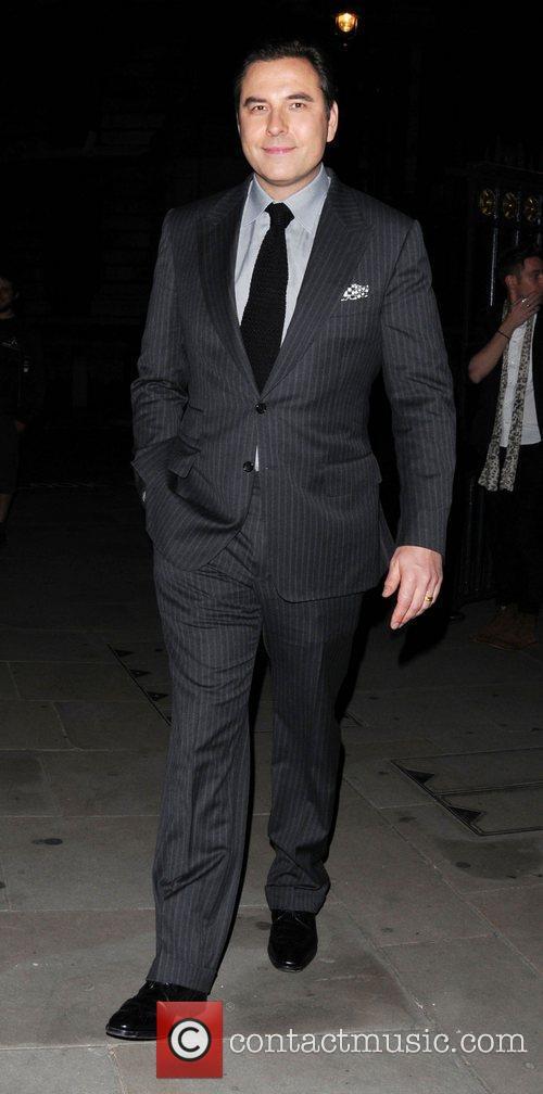David Walliams 'Britain's Got Talent' series wrap party...