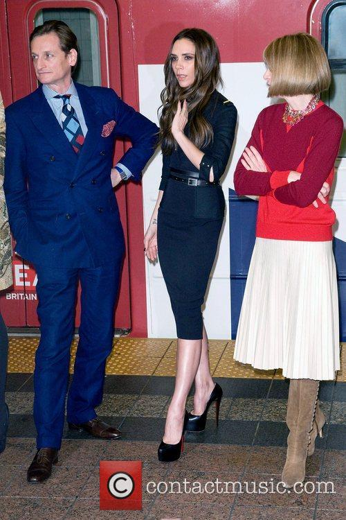 Hamish Bowles, Anna Wintour and Victoria Beckham 3