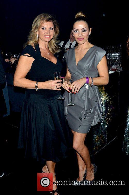 Elen Rivas (right) at the 8th annual British...