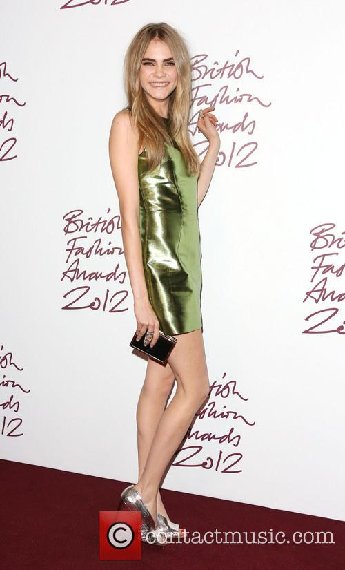 Cara Delevingne, British Fashion Awards