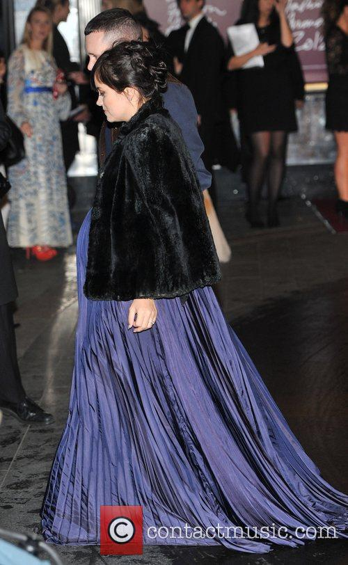 Lily Cooper The British Fashion Awards held at...