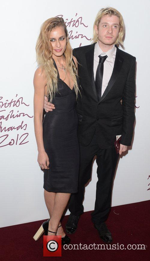 Alice Dellal, British Fashion Awards, The Savoy, London and England 3