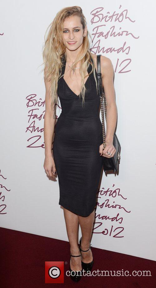 Alice Dellal, British Fashion Awards, The Savoy, London and England 2