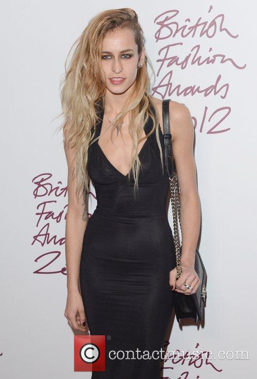 Alice Dellal, British Fashion Awards, The Savoy, London and England 4