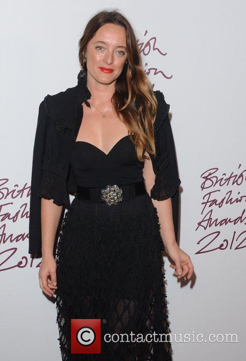 Alice Temperley at the British Fashion Awards at...