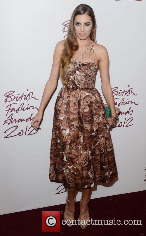 Amber Lebon, British Fashion Awards, The Savoy, London and England 3