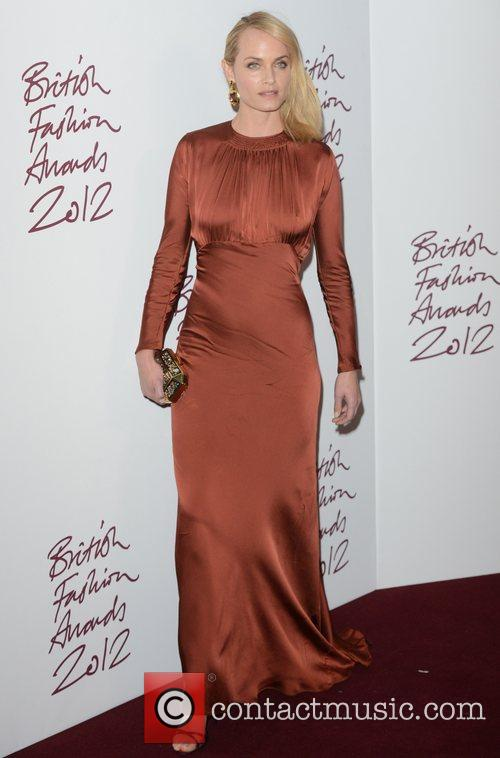 Amber Valletta, British Fashion Awards, The Savoy, London and England 1