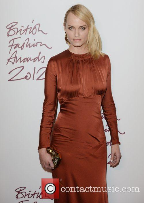 Amber Valletta, British Fashion Awards, The Savoy, London and England 3