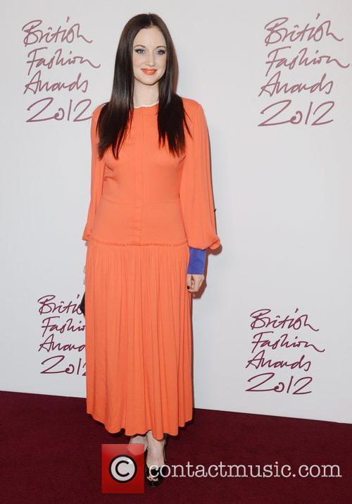 Andrea Riseborough, British Fashion Awards, The Savoy, London and England 2