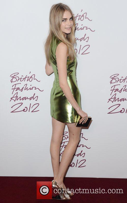 Cara Delevingne, British Fashion Awards, The Savoy, London and England 3