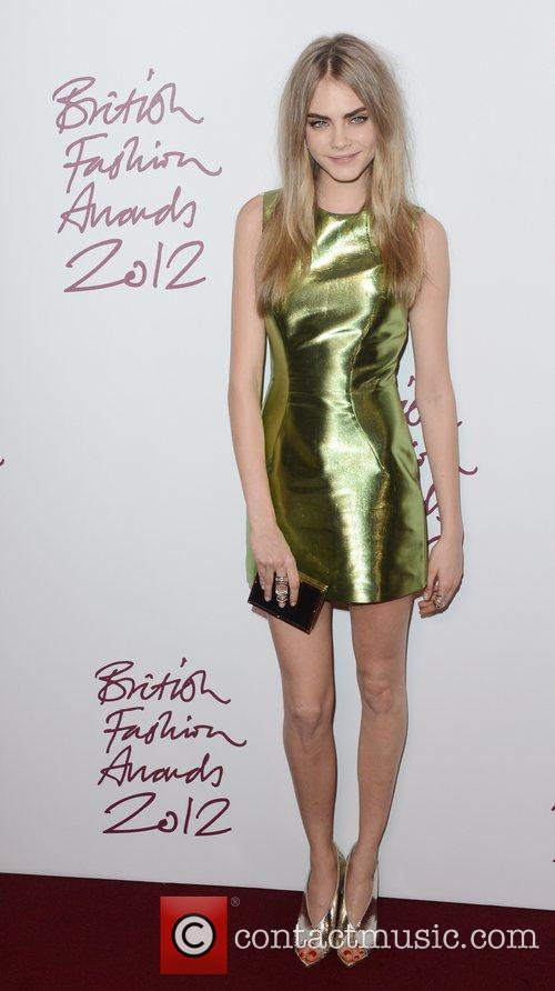 Cara Delevingne, British Fashion Awards, The Savoy, London and England 1