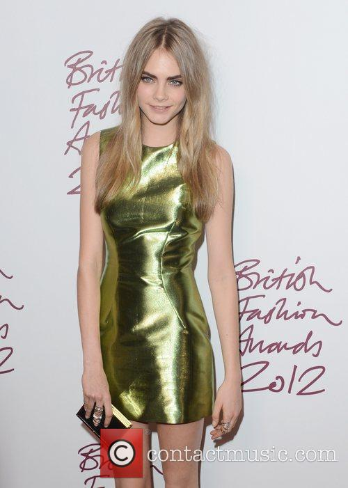 Cara Delevingne, British Fashion Awards, The Savoy, London and England 2
