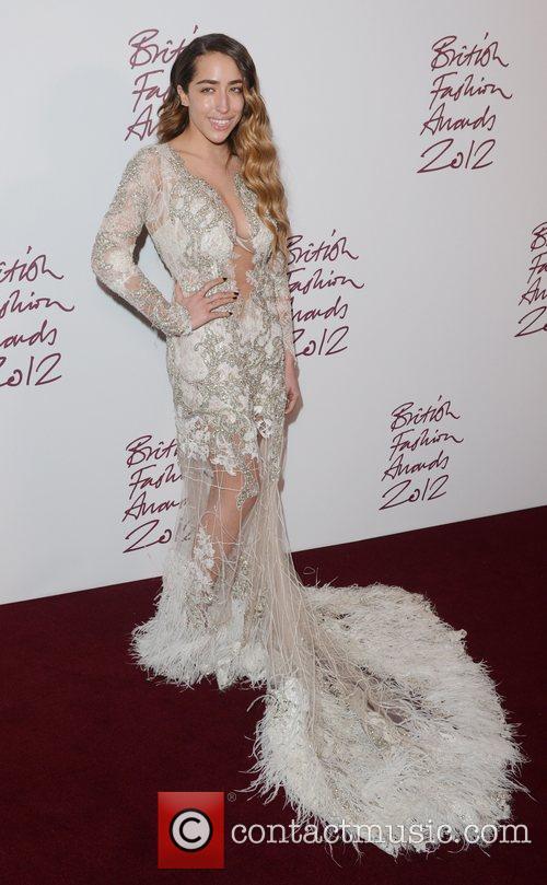 Delilah at the British Fashion Awards at The...