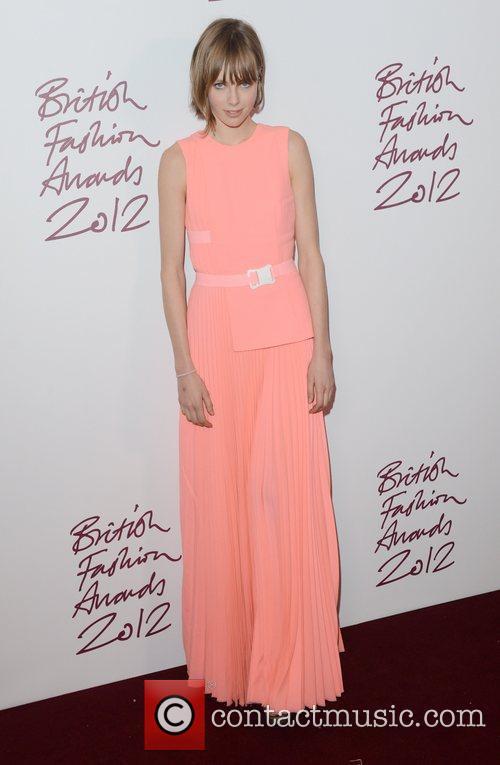 Edie Campbell at the British Fashion Awards at...