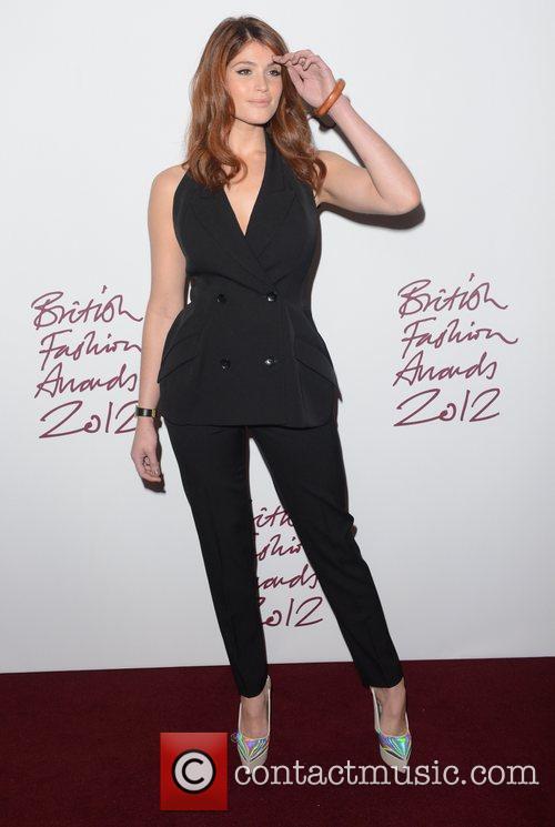Gemma Arterton at the British Fashion Awards at...
