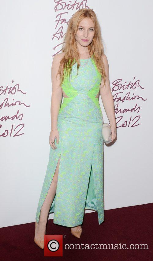 Josephine De La Baume, British Fashion Awards, The Savoy, London and England 6