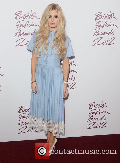 Laura Bailey at the British Fashion Awards at...