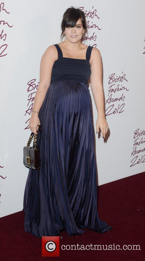 Lily Allen, British Fashion Awards, The Savoy, London and England 3
