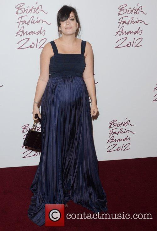 Lily Allen, British Fashion Awards, The Savoy, London and England 2