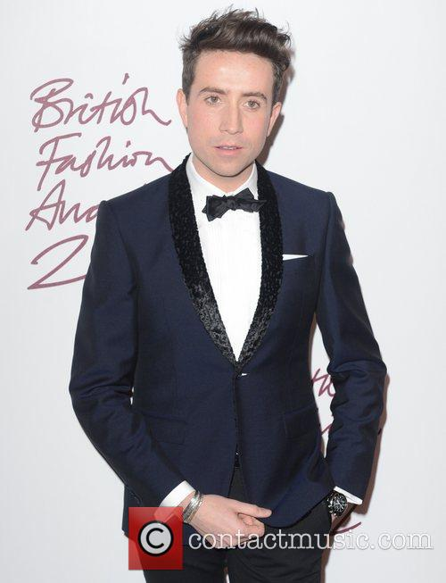 Nick Grimshaw, British Fashion Awards, The Savoy, London and England 5